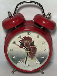 Wacky Wakers - Rooster Alarm Clock - Barnyard Series - Tested and Working