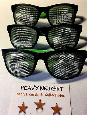 (1) Labatt Blue Shamrock Sunglasses St Patrick's Day Limited Edition