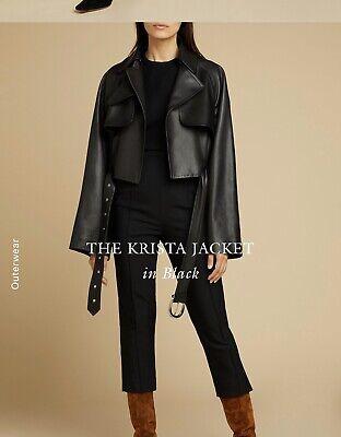 khaite Jacket - Leather Jacket Size 8