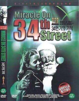 Miracle on 34th Street (1947) Maureen O'Hara / John Payne DVD NEW *FAST SHIPPING