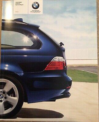 2008 BMW 5 Series Sports Wagon Original Sales Brochure 535xi Very Good Condition