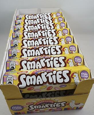 Box Of 24 Nestle Smartie 38g Tubes Llama Dated End March 2020