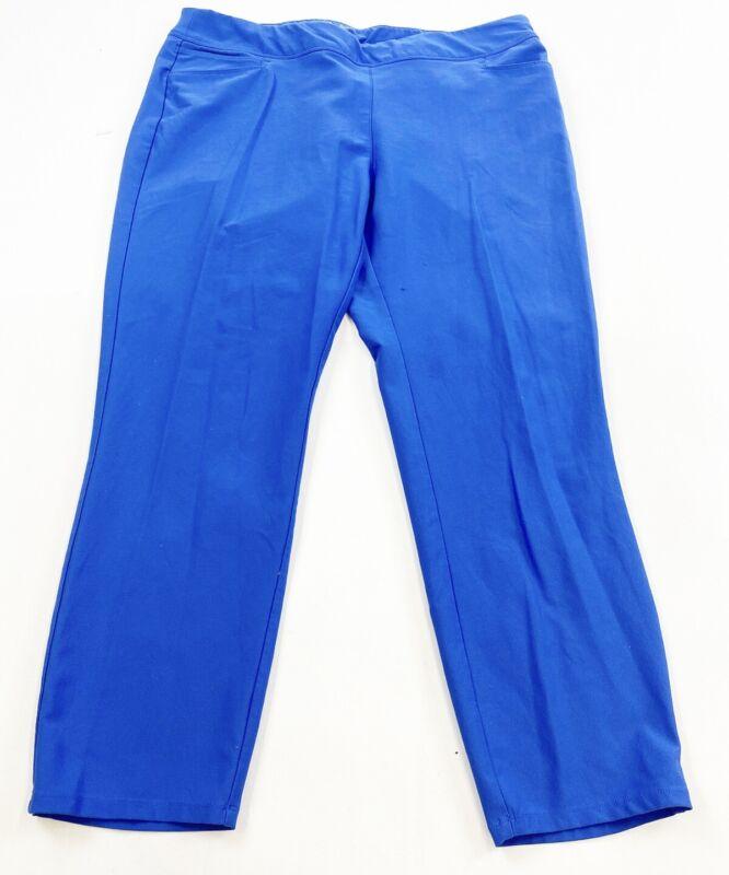Adidas Golf Pants Womens L Blue