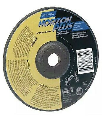 Type 27 Norton Norzon Plus Foundry Depressed Center Abrasive Wheel 7//8 Arbor 9 Diameter x 1//4 Thickness 7//8 Arbor 9 Diameter x 1//4 Thickness Gobain Abrasives 66253007013 Zirconia Alumina Pack of 1 Pack of 1 St