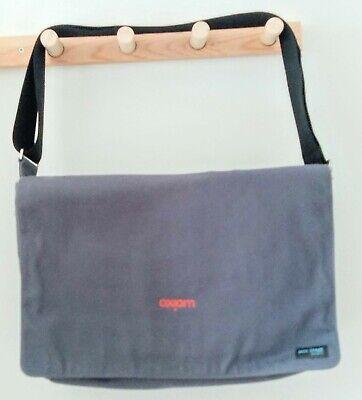 Jack Spade Grey Canvas Messenger Bag