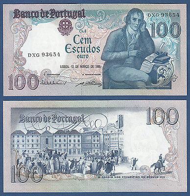 PORTUGAL 100 Escudos 1985 UNC  P.178 d