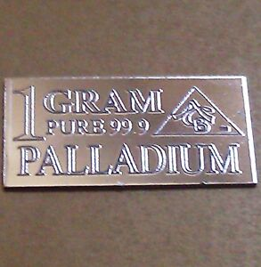 Palladium-99-9-Pure-1-GRAM-Precious-Metal-ACB-Very-Rare-Bullion-PD-Bar-FREE-GIFT