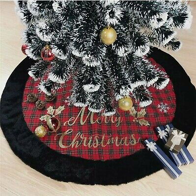 Beyond Your Thoughts New Handmade 48 Inch Christmas Tree Skirt Decoration