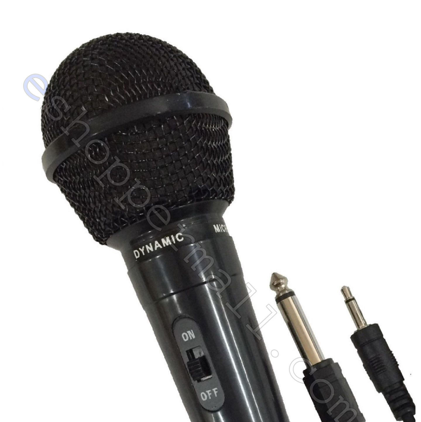 Купить Dynamic Microphone Mic w/Extra Adapter Karaoke Systems & Computers 3.5mm & 6.3mm