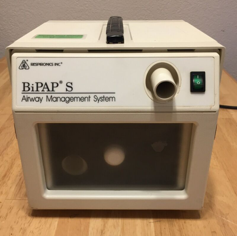 Respironics BiPAP S Ventilator Model 332202 TESTED