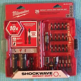 MILWAUKEE 48-32-4408 SHOCKWAVE DRILL & IMPACT DRIVER BIT SET 26