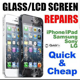 iPhone 4 5 6 6plus 6s 6splus 7 7plus Broken Screen Repairs