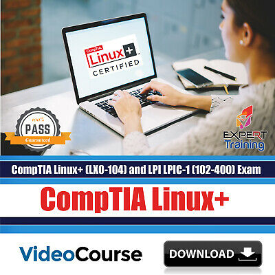 CompTIA Linux+ (LX0-104) LPI LPIC-1 (102-400) Exam Prep Video Course  DOWNLOAD