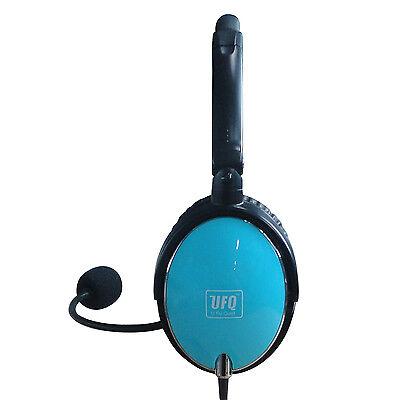 UFQ.1 ANR Aviation Headset UFQ (U Fly Quiet) A6 hellblau 1 Aviation Headset
