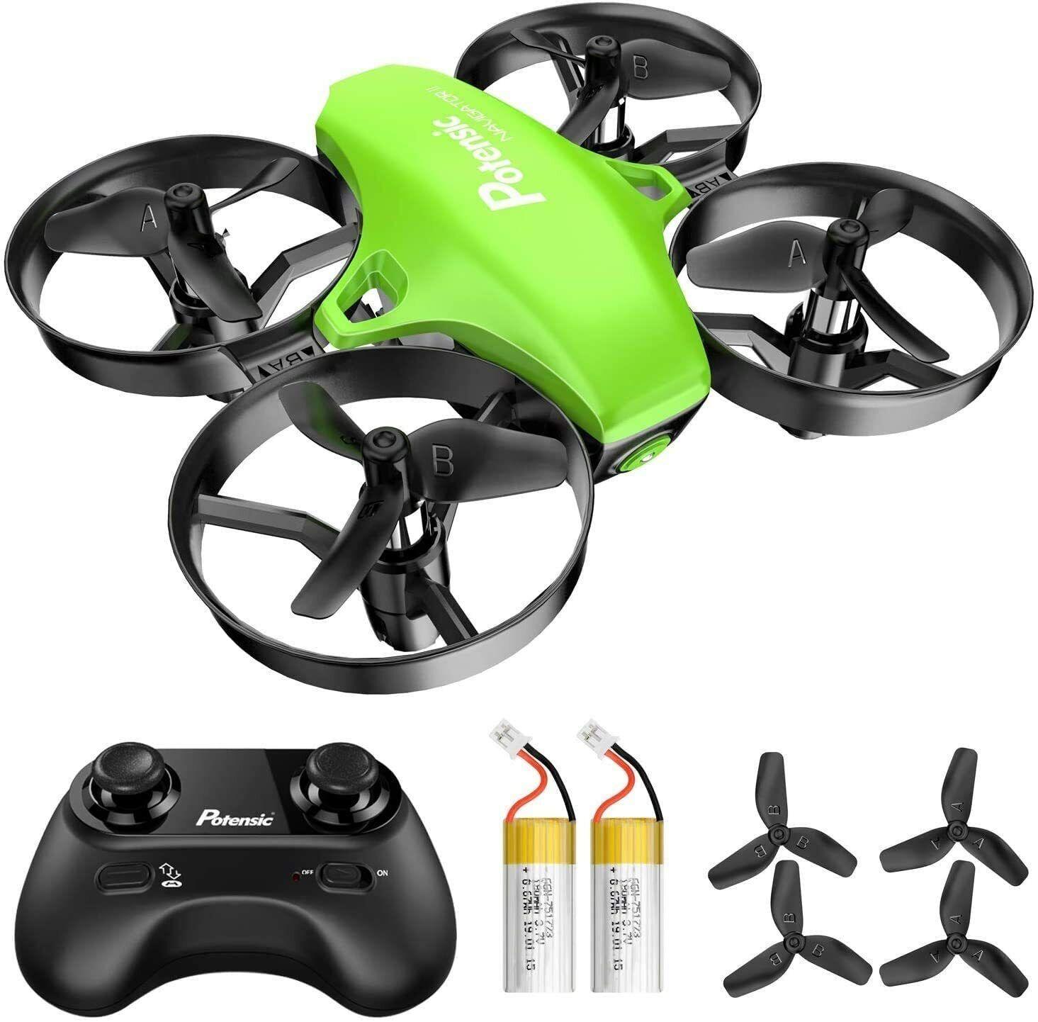 Potensic A20 Mini Drohne 2.4G RC Quadrocopter Spielzeug Helikopter für Kinder
