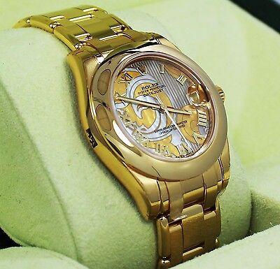 Rolex Masterpiece Datejust 81208 18K Yellow Gold Goldust MOP Dial B&P *UNWORN*