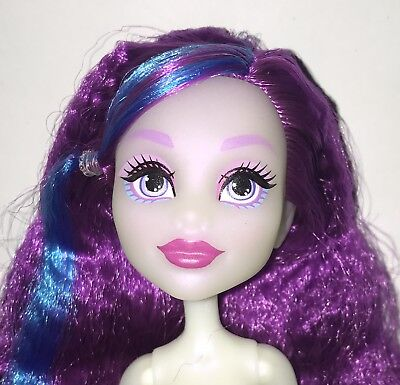 Monster High Electrified Hair Raising Ghouls Ari Hauntington Nude Doll NEW OOAK