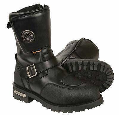 MILWAUKEE LEATHER MENS WATERPROOF BOOTS SHOES w/ GEAR SHIFT PROTECTION - SAFH Gear Shift Boots