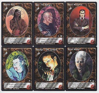 Caitiff Vampire (Caitiff Group 1 Vampires x6 Complete Jyhad V:TES)
