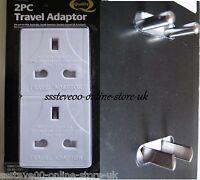 2 Pcs Travel Adaptor Set One Euro Adaptor And One American / Australian Etc Bnip - travel - ebay.co.uk