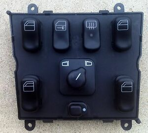 1998-2002-MERCEDES-BENZ-ML320-ML430-ML55-AMG-MASTER-POWER-WINDOW-SWITCH-NEW