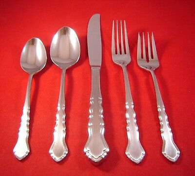 International Stainless Flatware - International Silver Lyon Americana Satin Stainless Flatware Your Choice EXC