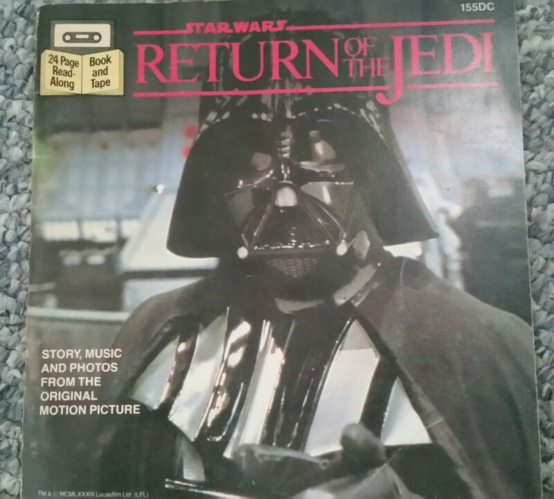 Return Of The Jedi.Read Along Book.(Does Not Include Audio Tape.)1983 Very Good