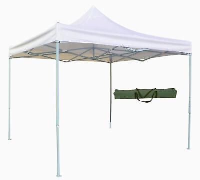 Gazebo Plegable Confiables Telescópico 3x3 M. Toalla Blanco Para Mercado Feria