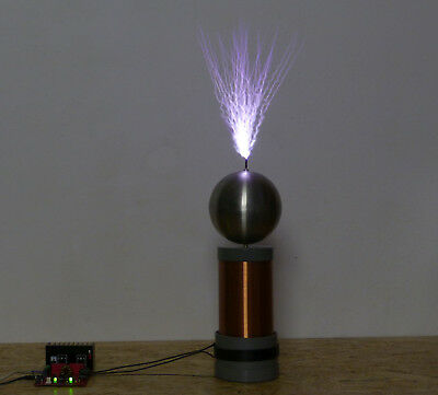 "Copper Tesla Coil Secondary 26awg 6/"" to 30/"" wound on 3.5 inch outer diameter PVC"