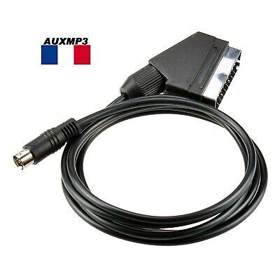 Cable RGB PERITEL POUR SEGA MEGADRIVE 2 vendeur pro de france