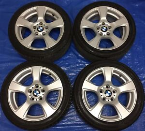 """2010 BMW 3 Series E92 17"""" OEM Rims & Tires *Perfect Cond."""""""