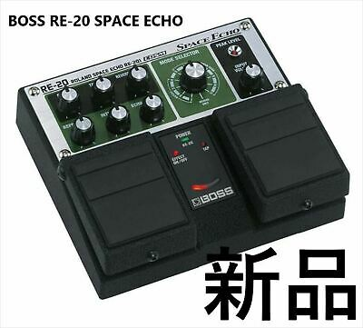 RE-20 Roland BOSS Space Echo Reverb Delay Guitar Twin Pedals Effect COSM New