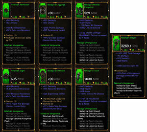 Diablo 3 RoS PS4 [SOFTCORE] - Natalya's Vengeance Demon Hunter Set [Ancient]