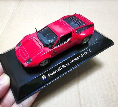 1:43 Car Model Gift Maserati Bora Gruppo 4 -1973 Diecast Allory Toy
