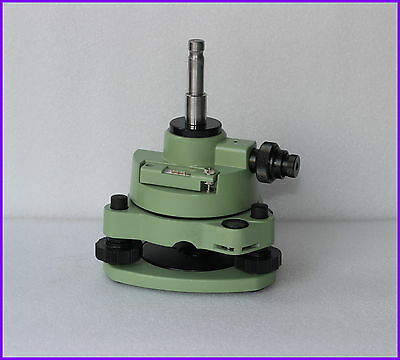 New Three-jaw Green Tribrach Carrier Adapter With Optical Plummet Fits Prism