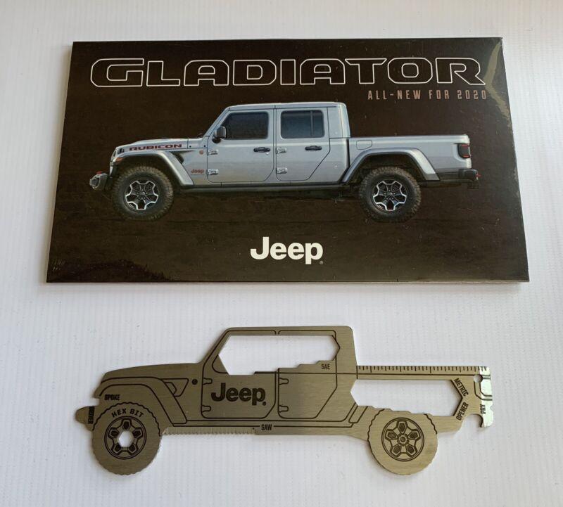 New & Sealed Jeep Gladiator Multi-Tool & Brochure for 2020 Mopar Gladiator