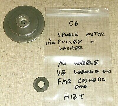 Emco Compact 8 Lathe Spindle Motor V-belt Timing Gear Pulley H12t