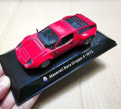 1/43 Scale Red Maserati Car Model Bora Gruppo 4 -1973 Vehicles Toys Collection
