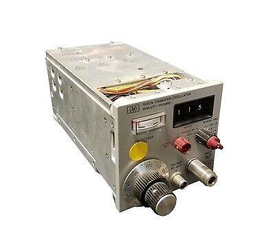 Vintage Hp Hewlett Packard Transfer Oscillator 5257a