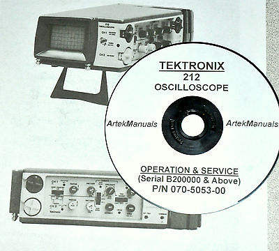 Tektronix 212 Oscilloscope Late-serial Numbers Service Manual