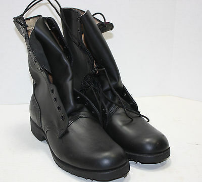 Post Vietnam Leather Combat Boots size 9R 84' dated