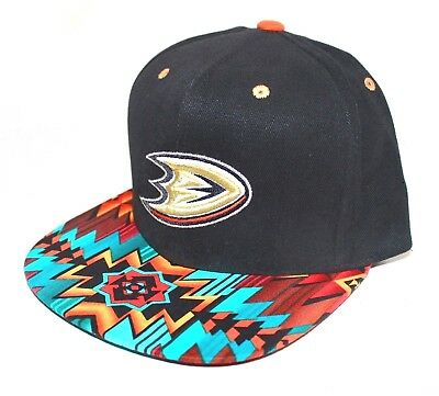 PICK1 Anaheim Mighty Ducks Native OR Weed Mitchell & Ness SnapBack