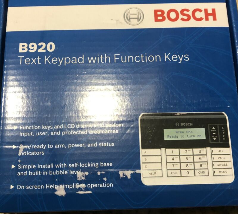 Bosh B920 Keypad