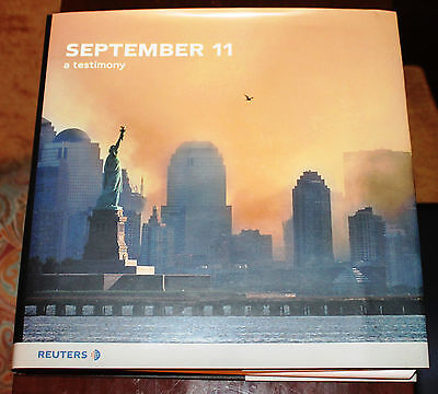 September 11   A Testimony  2001  Hardcover  Reuters