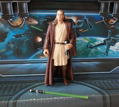 STAR WARS FIGURE 1999 PHANTOM MENACE COLLECTION QUI GON JINN JEDI MASTER