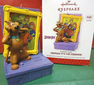 HALLMARK 2013 Jeepers! It's the Creeper Scooby Doo Ornament New in Box