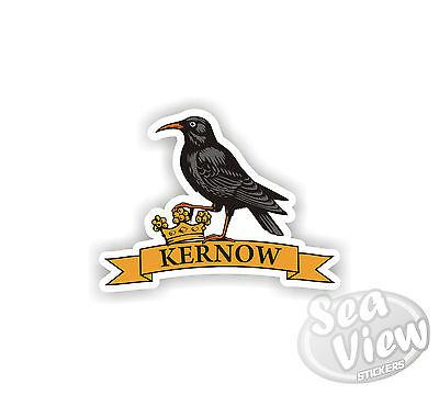 Chough Kernow Cornwall Cornish St piran Car Van Stickers Decal Funny Sticker