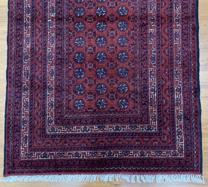 Handmade Princess Bokhara Wool Rug