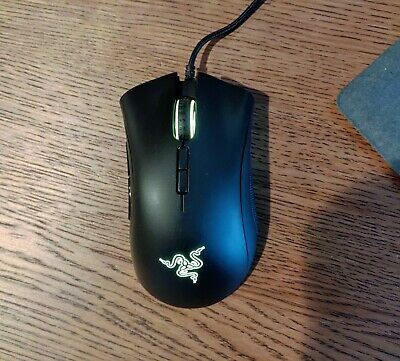 Razer DeathAdder Elite Gaming Mouse: 16,000 DPI Optical Sensor - Chroma RGB