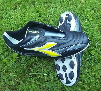 Diadora schwarz Sportschuh Fussballschuh Kicker RETE RTX 12 ()